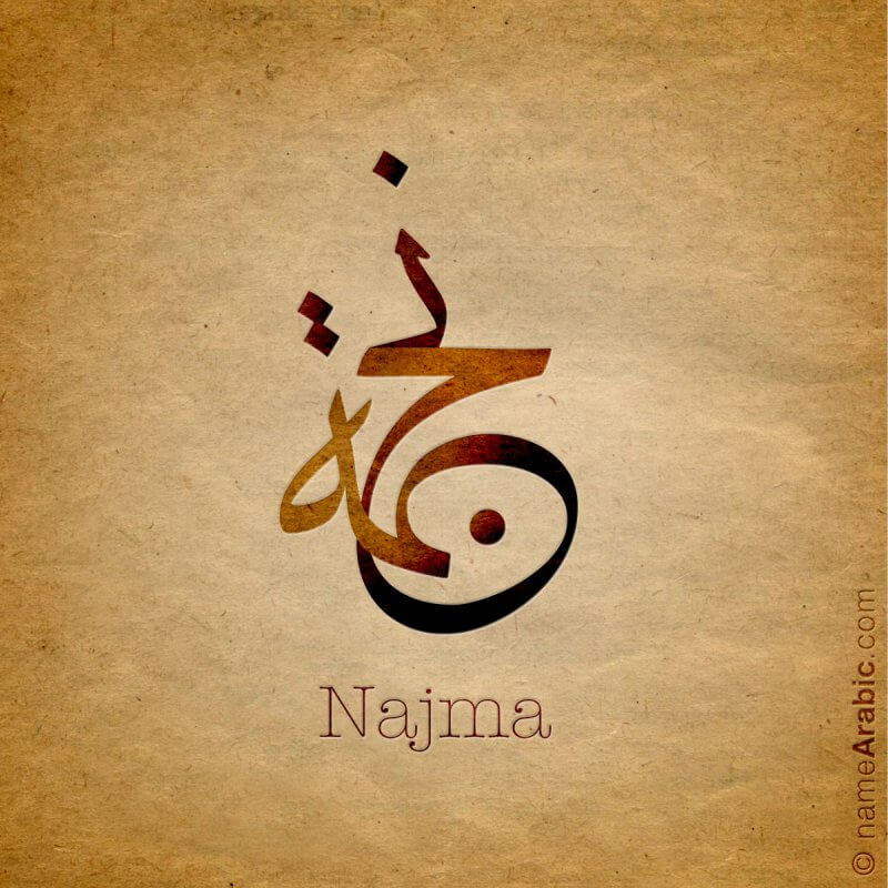 Names With Arabic Calligraphy