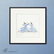 Watercolor Sufi Dance